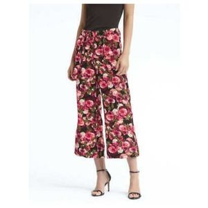 Banana Republic | Floral Blake Cropped Pants